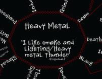 Classification of Heavy Metal