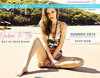Roxy Website Redesign