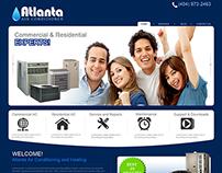 Web Page Design for a Marketing Company