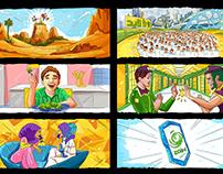 Zain Storyboard