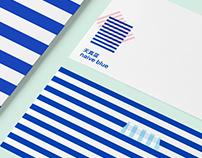 Naive Blue Visual Identity System