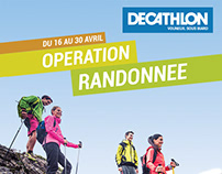 Opération randonnée - Decathlon - Poster