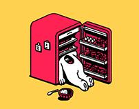 hot as hell - rabbit & refrig