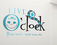 Five O'clock Logo design
