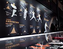 中華職棒30週年特展大數據展牆