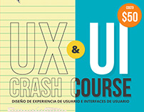 UX & UI Crash course poster