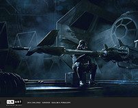 2016 -STAR WARS ILM Art Department Challenge