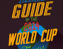 Illustrated Guide to the 2014 World Cup Jerseys