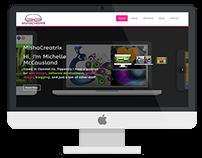 Mishacreatrix - revamped website