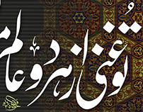 Allama Iqbal's Persian Stanza