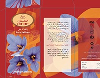 Co-op Saffron Package Design