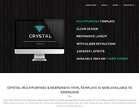 Crystal - Responsive Multipurpose Template
