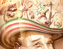 Summer Mexican Solstice Party (Faustino Miranda)