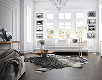 3D Visualization of room