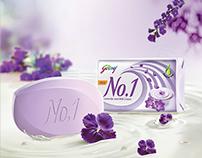 Godrej No.1 Lavender