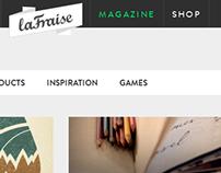 Wordpress Blog for laFraise