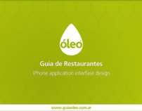 Guía Oleo iPhone app