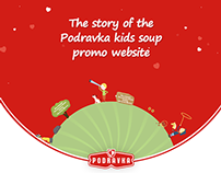 The story of the Podravka kids soup website