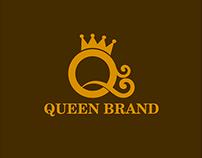 Queen Brand Logo Template