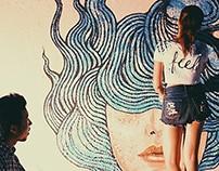 Wall Painting at Brownstone Studio, Bangkok