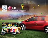 World Cup & KIA Rio Alsaqqa