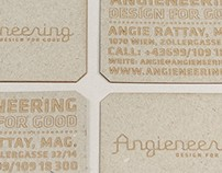 Business cards - Angieneering