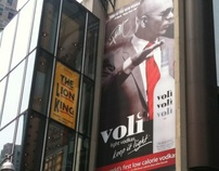 Voli + Pitbull Billboard ------------ NY Times Square