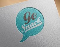 """Разработка логотипа и фирменной упаковки для """"GO Snack"""""""