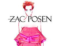 Zac Posen : Spring/Summer 2014 : Nastya Kusakina