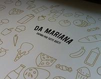 Da Mariana Packaging Design