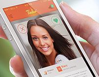 Re-Designed Tinder UI