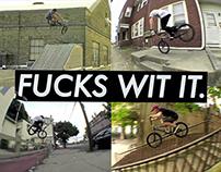 Fuckswitit BMX DVD