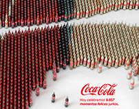 Advertising COCACOLA