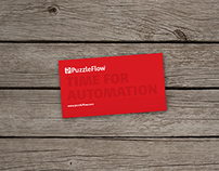 PuzzleFlow and Infosystems Business Cards