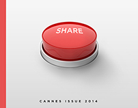 AdAge Cover Contest - Cannes Issue 2014