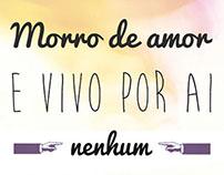 Cartaz dia dos namorados + Festa Junina