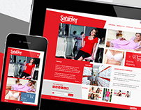 Sahinler Client Website + Ecommerce