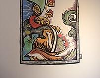 Sepaloh Art Centre (Ipoh) Mural