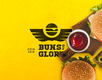 Logo Design : Buns of Glory