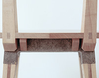 Span Chair - Sycamore & Concrete