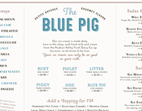 Blue Pig Ice Cream Shop