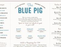 Blue Pig Ice Cream Shop
