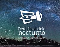 Derecho al Cielo Nocturno - Extensión Universitaria