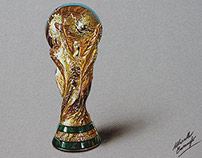 FIFA World Cup Trophy - drawing