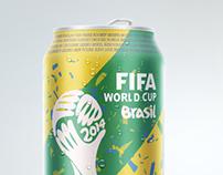 Coca-Cola Brazil 2014 Concept Can