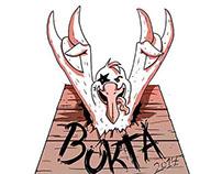 """Promotional illustrations for """"Buktafestivalen"""""""