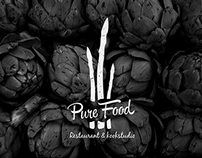 CORPORATE IDENTITY | PURE FOOD