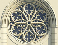 Gothic Rose Window Tracery