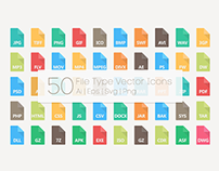 File Type Vector Icons (Freebie)