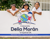Fundación Delia Moran Illustrations